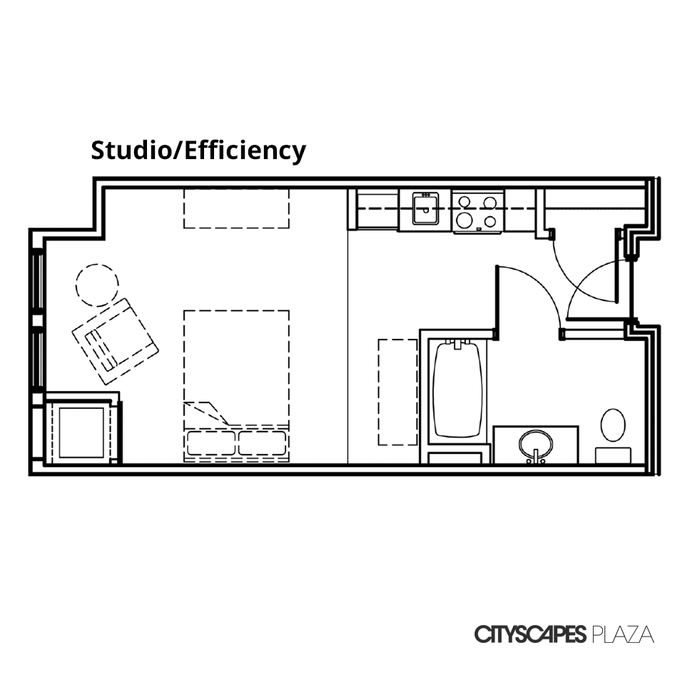 Cityscapes Plaza Studio Apartment